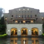 台北カフェ:蔡明亮咖啡走廊(中山堂)で小津映画を鑑賞