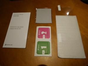 WANLOK - iPhone6 ガラスシートの内容物