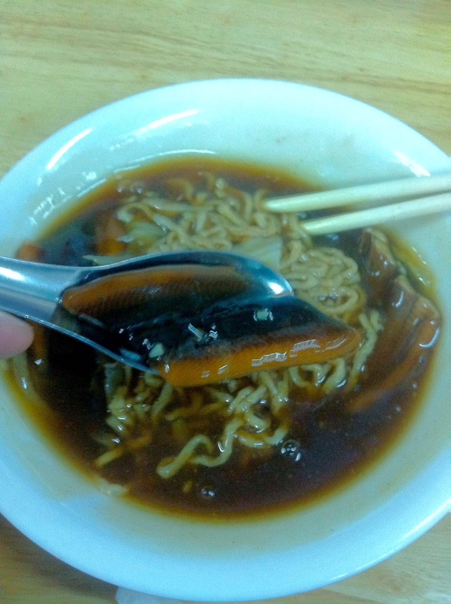 鱔魚意麵湯