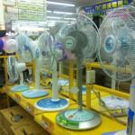種類豊富、台湾のオモシロ扇風機たち